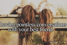 b e s t i e s / Best friend quotes and picture ideas for a best friend photo shoot / by Sianna Sanders
