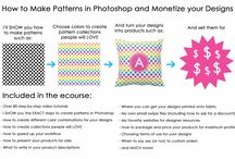 Graphic Design & Photoshop / A collection of tutorials, tips and how-to's relating to graphic design and photoshop! How to make seamless repeating patterns in Photoshop ecourse: http://buildabiggeronlinebusiness.teachable.com/courses/how-to-make-seamless-repeating-patterns-in-photoshop  How to make labels in photoshop ecourse: http://buildabiggeronlinebusiness.teachable.com/courses/how-to-make-labels-in-photoshop