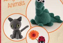 Amigurumi Animals - Crochet Book by Susan Yeates / Amigurumi Animals is the fun crochet book by Susan Yeates showing you how to make these 21 cute animal crochet patterns! Check out our photos here or visit our website to find out more: http://www.magenta-sky.com/amigurumi-animals-book