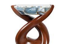 Featured: Dancing Stones Table / Designed and patented by Anne Thull, the Dancing Stones table is graceful and fluid in its movement. Check out our website for more about the table!