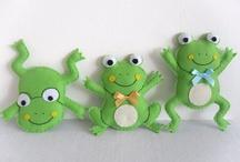 3 kurbağa