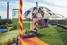 """Garden and Playspace """"Hospital 12 de Octubre"""""""