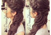 Dance Hair / Hairstyles for whatever upcoming dance