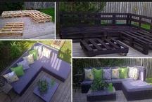 DIY Garden and Garden Furniture / Pallet Furniture