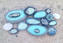 cailloux décorés