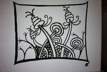 Painting Ideas / Zendoodling / by Sip-n-doodle