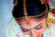 South Indian Bridal Headpieces / Gorgeous board for South Indian Bridal Headpieces.