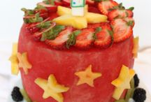 Fruit birthday cake ideas