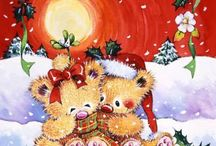 xmas bears that makes one feel loved