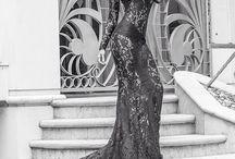 Black haute couture