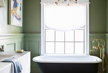Blissful Bathrooms / Beautifully decorated bathrooms, from the super modern to the utterly traditional.