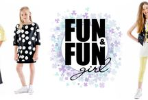 FUN & FUN SS16 / This brand generates clothing collections that embody cool and quirky style so designs are on trend with contemporary styling.
