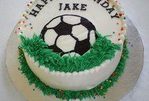 cake soccer ball