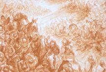 """Ubaldo della Volpe / Della Battaglia """"UBALDO DELLA VOLPE  -Lavori primi anni settanta-       vernissage sabato 24 ottobre 15 ore 17.30       24 ottobre - 21 novembre da martedi a sabato 16.00-19.30 o su appuntamento"""