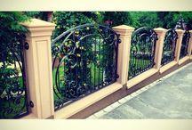 Concrete columns Fences (Pilastri di cemento recenzioni) / Betonea