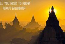 Myanmar and Thailand / by Carla Fox-Hawthorne