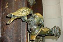 door - handles, knockers, bells