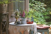 COUNTRY LIVING {imagine} / Imagine spending long quite Summer's days in your fantasy country home. Hmmmm. Joy.