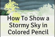 How to draw and paint pictures