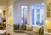 Bay window seating / by Kimberly Corbin