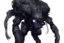 Concept Art: Creatures