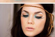 Hippie-make-up