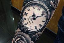 Tatuagem Relogio cpf