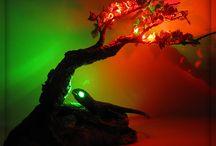lamp beadad