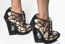 Geometric design. Shoes