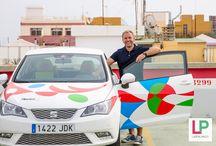 Autonvuokraus / Autonvuokraus ja oma kuski ajamaan autoa puolestasi! Las Palmasissa.