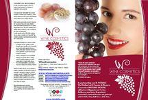 Brochure WineCosmetics / Brochure WineCosmetics