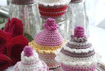 Queques y comidas crochet