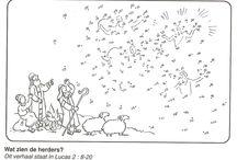 Bijbelse kleurplaten / geschiedenissen uit het O.T en N.T