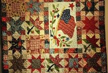 Pieced Quilts WITH Applique'