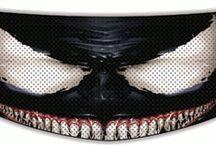 Helmet Accessories / Cool helmet accessories like helmet bows, helmet covers, helmet mohawks, helmet horns & helmet shield stickers.