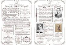 Svatební oznámení+noviny