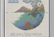 Stitch it / Cross stitch and embroidery / by Bees Knees