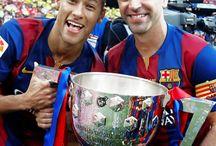 Neymar Jr i Xavi