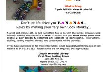 Sock Monkey Saturday