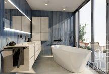 Koupelny od nás, vizualizace / Při návrhu koupelen tvoříme fotorealistické vizualizace.