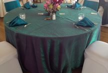 Wedding Linens / With so many different specialty linen options available at the Foster Country Club each wedding is customize to create that special look!
