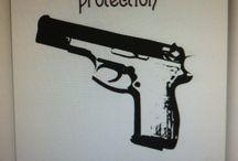 Yeah I carry a gun.... / by Amanda Leggette
