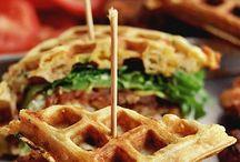 Sandwiches n waffles