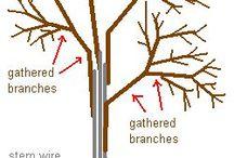 деревья бисер