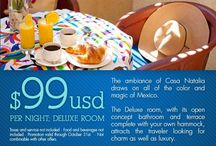 Hotel Specials / Look here for Hotel Specials on Rooms - usually posted once a quarter.