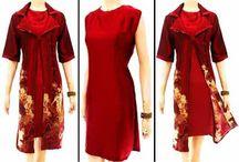 Dress Batik Bagoes Solo