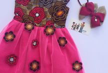 African prints kids outfit