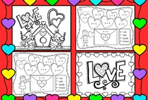Valentine school activities / by Emily Walton Smith