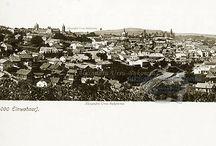 Cernăuţi - Cernăuţi (Czernowitz), Zastavna, Cozmeni (Coțmani), Sadagura, / Cernăuţi, judeţ în nord-vestul Moldovei, Bucovina, România.