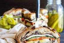 Sandwich und Burger